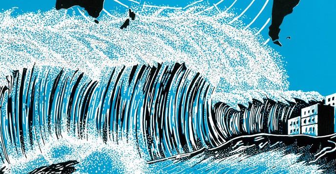 Tsunami awareness poster